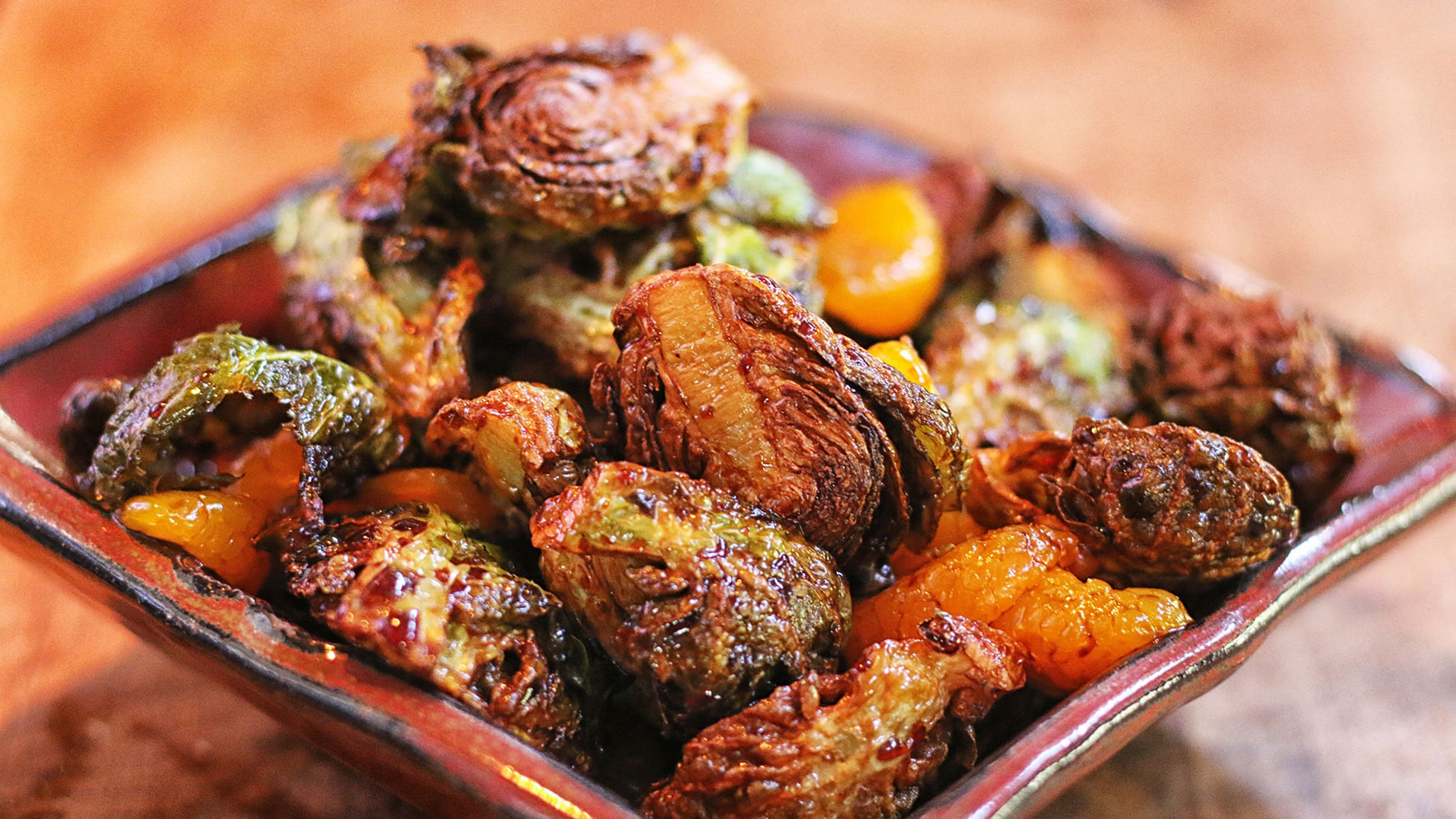 rosted brussel sprouts